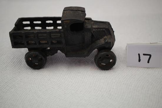 """Cast Iron Truck, 4 1/2""""L x 2 1/4""""H"""
