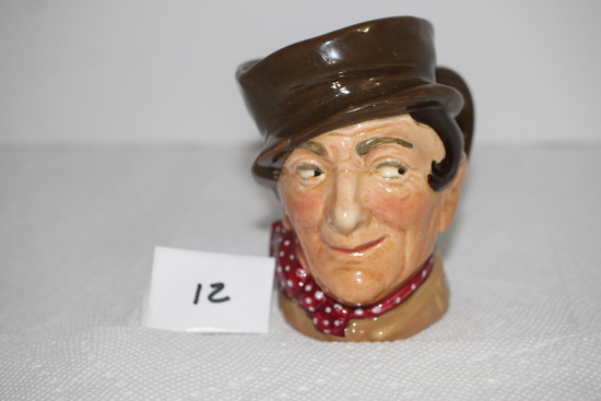 """Vintage Royal Doulton """"Sam Weller"""" Mug/Jug, A, Made In England, 4"""""""