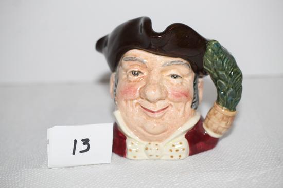 """Vintage Royal Doulton """"Mine Host"""" Mug/Jug, D6410, Copr. 1957, 3"""""""