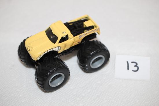 """Hot Wheels Monster Truck, Bull Dozer, 3 1/2"""""""