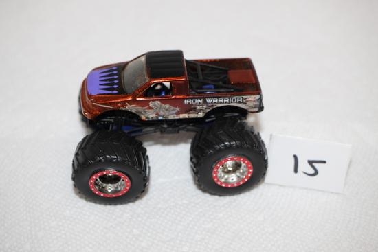"""Hot Wheels Monster Truck, Iron Warrior, 3 1/2"""""""