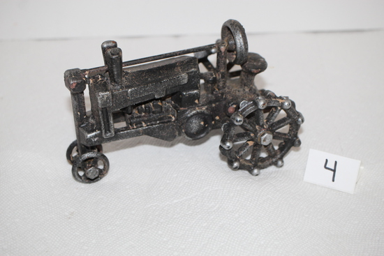 Cast Iron Tractor, 7""