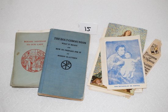 Assorted Vintage Religious Items