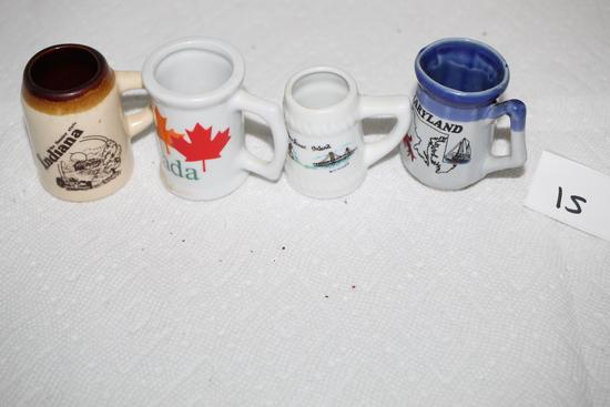 "Toothpick Holders, Canada, Mackinac Island, Indiana, Maryland, 2"" - 2 1/2"""