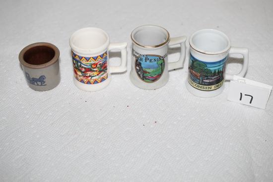 "Toothpick Holders, Las Vegas, Pottery, Michigan's Upper Peninsula, Wisconsin Dells, 1 1/2"" - 2 1/2"""