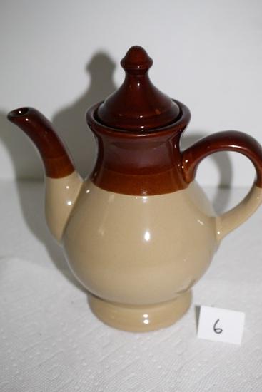 """Interpur Stoneware Tea Pot, 9""""H x 8 1/2""""W incl. Spout & Handle"""