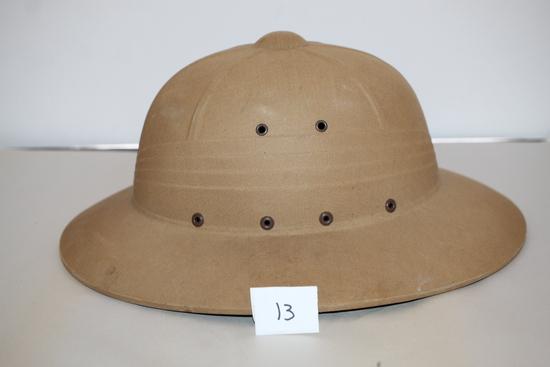 Hawley Tropper Pressed Fiber Sun Helmet, Military?