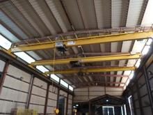 ABSOLUTE 10-TON X 55 OVERHEAD BRIDGE CRANE
