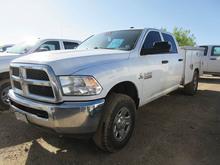 2014 WHITE DODGE RAM 2500 UTILITY TRUCK