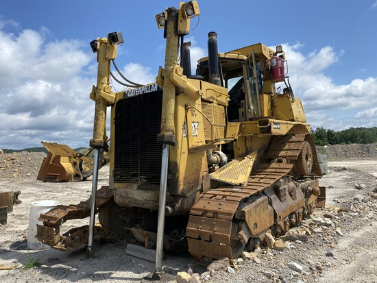 CATERPILLAR D10R DOZER, S/N: AKT00524, CAT 3412E DIESEL ENGINE, COMES WITH 16'6'' WIDE DOZER
