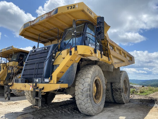 CATERPILLAR MODEL 777F OFF-ROAD DUMP TRUCK, P/N: CAT0777FUJRP00973M UNKNOWN HOURS, CAT DIESEL
