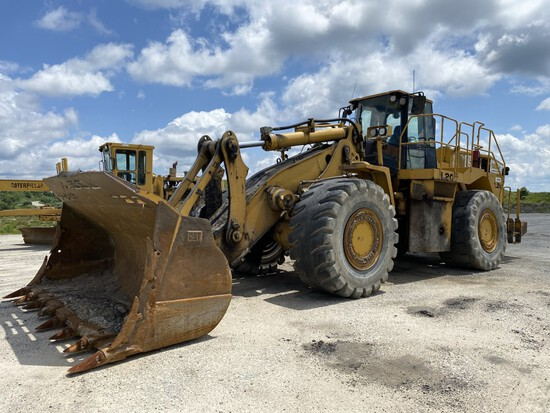 CATERPILLAR 988H WHEEL LOADER, P/N: CAT0988HHBXY00475, UNKNOWN HOURS, CAT C-18 DIESEL ENGINE,