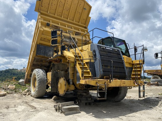 CATERPILLAR 777F OFF-ROAD DUMP TRUCK, S/N: CAT0777FLJRP00975, CAT DIESEL ENGINE, HYDRAULIC DUMP BOX,