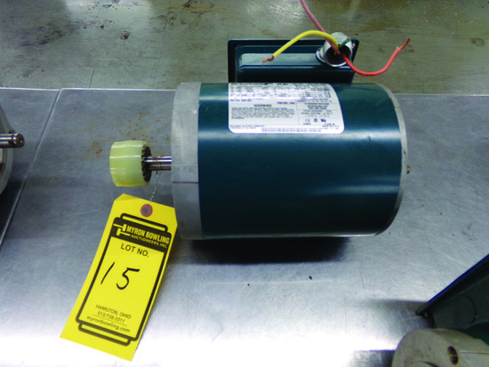 RELIANCE 1/2-HP ELECTRIC MOTOR, 230/460 V., 3-PHASE, ID #P56X1526J