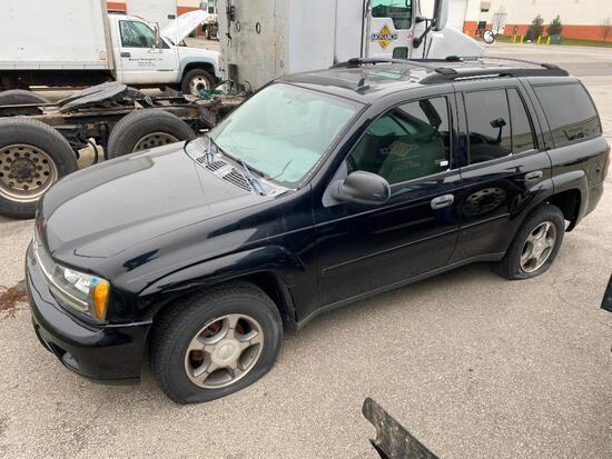 2007 CHEVY TRAILBLAZER SUV, VIN 1GNDT13S772298435