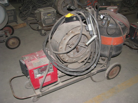 Lincoln Model LN-9 Squirt Wire Feeder  with Submerged Arc Sub-Arc Attachment