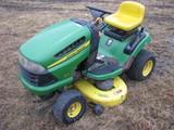 John Deere Model 105 Ride on Lawn Mower GAS