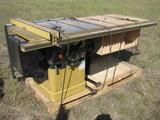 Powermatic III Model 66 Table Saw