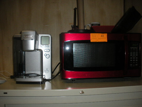 Hamilton Beach Microwave and Keurig Coffee Maker