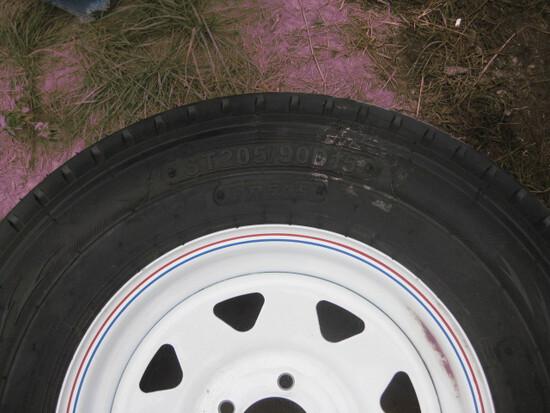 Fullrun ST205/90D15 Trailer Wheel