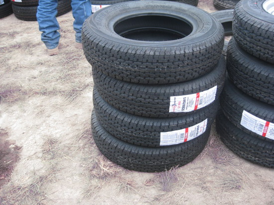 Trailer Master ST205/75R15 Trailer Wheels and Tires new