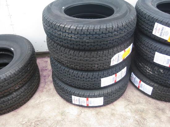 Trailer Master ST205/75R15 Trailer Tires