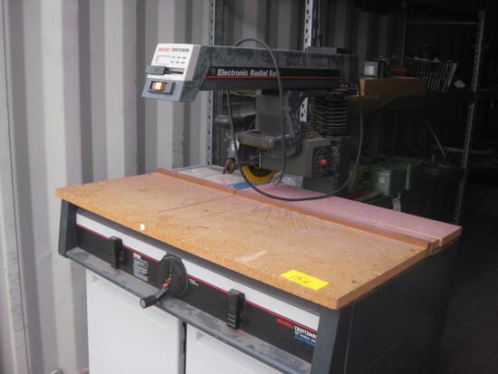 """Craftsman 10"""" Electronic Radial Arm Saw"""