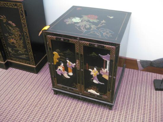 """Oriental 2-Door Cabinet 20""""x20""""x24"""" high"""