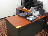 L-Shape Work Station with 2-Drawer