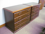 (2) 2-Drawer Lateral File Cabinets Location Temple