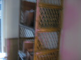 (4) Guest Chair Bamboo Shelf Location Temple Texas