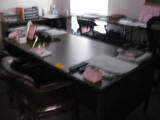 Double Pedestal Desk Excutive Chair (3) Guest Chairs Latral file cabinet and 2 dawer cabinets Locati