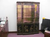 Oriental Glass Display Cabent 55