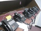Samsung Phone System With (17) Samsung Model LCD 24B Hand Sets Located Temple Texas