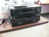 Sherwood Model RX-4105 Receiver and 5-Disc DVD Player
