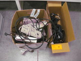 2 Boxes misc Cords