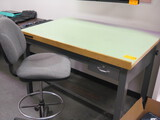 Drafting Table and Stool