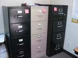 (5) File Cabinets (1) Fire Proof Location Temple Texas
