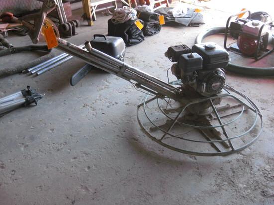 "36"" Whiteman 5.5hp GX160 Gas Powered Concrete Finisher"
