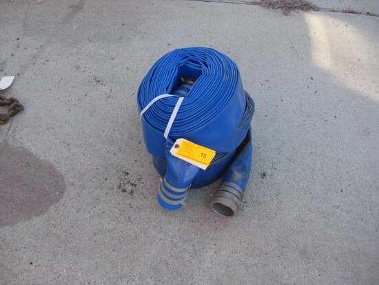 2 Blue new discharge hoses