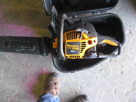 Poulan Model PP3816a Chain Saw