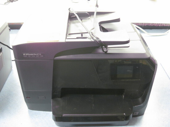 HP Office Jet Pro 8710 All in One Printer