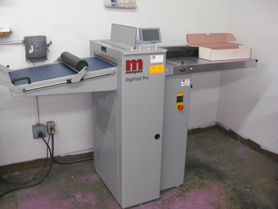 Morgana Model 175821S Digifold Pro (UL) Folder  SN 600733