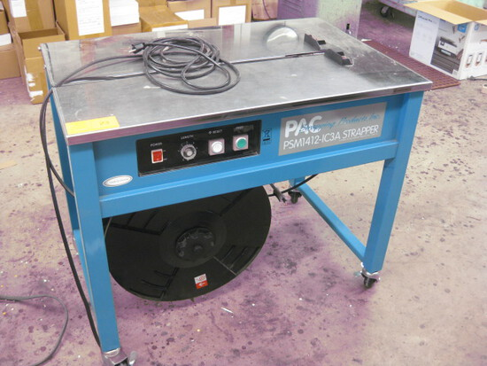 PAC Model PSM1412-1C3A Strapper