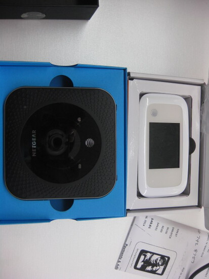 (2) Wireless Netgear and At&T MiFi in box