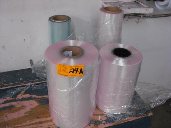 (4) Rolls Shrink Wrap