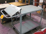 Metal Paper Wrapping Cart