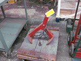 4-Wheel Dolly and Barrel Clamp