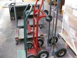 (3) Two-Wheel Dollies