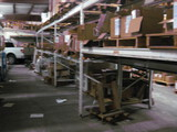 (4) White sections Pallet Shelving